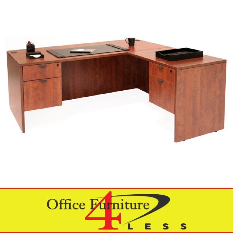 C L Shape Desk 66x30 48x24 L Shape Desk Office