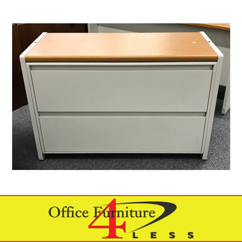 Used 2 Drawer Metal Lateral File