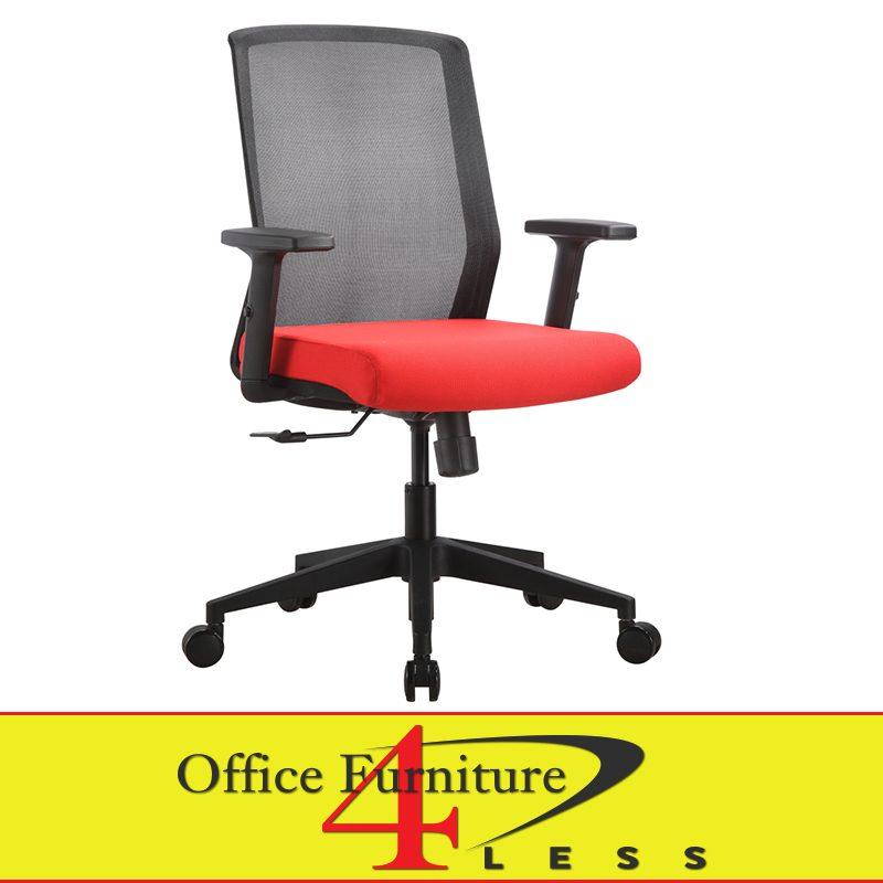 Super C 611B C Ps1 Rd Meshback Ergonomic Task Chair Red Beatyapartments Chair Design Images Beatyapartmentscom