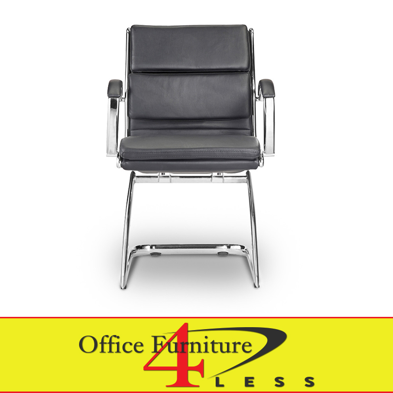 c 307gb guest chair black office furniture 4 lessoffice