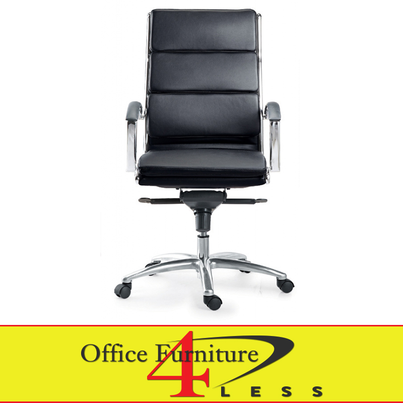 C 307HB Executive Highback Swivel Chair (Black)   Office Furniture 4  LessOffice Furniture 4 Less