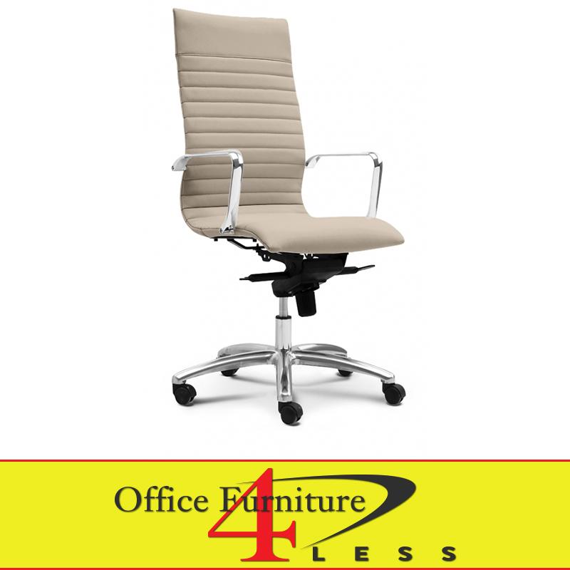 C 309hs Executive Highback Swivel Chair Sand Office
