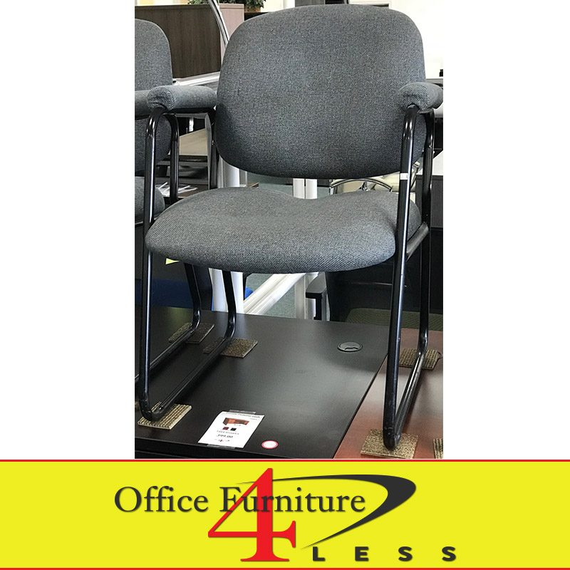 Used Global Side Chair With Sled Base Office Furniture 4